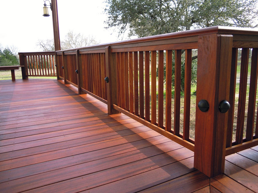 Iron Wood Decking Houston Custom Decks Flagstone And
